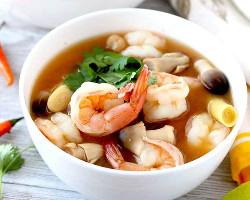 Tom Yum Seafood Soup