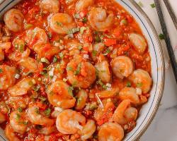 Shrimp Szechuan Style