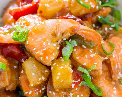 Shrimp Sweet And Sour