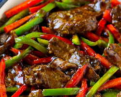 Beef With Green Pepper