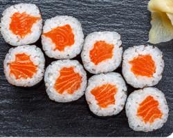 Salmon And Avocado With Cream